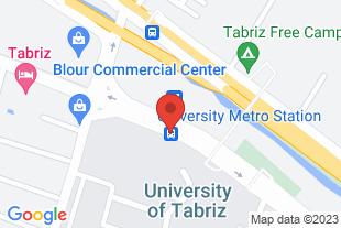 اعزام نیرو خدماتی در تبریز - موقعیت در نقشه