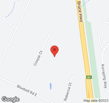Map of 20 Cooyar Court, Tinana, QLD