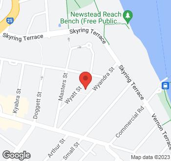 Map of 42 Wyandra St Newstead QLD 4006 (L1/RP208454)