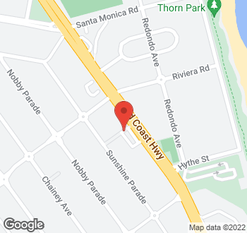 Map of 2068 Gold Coast Highway, Miami 4220, QLD