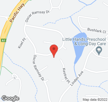 Map of 11 Sandpiper Crescent, Boambee East, NSW