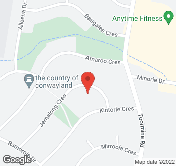 Map of 38 Jemalong Crescent, Toormina, NSW