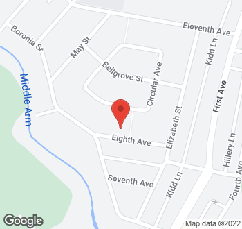 Map of 16 Eighth Avenue, Sawtell, NSW