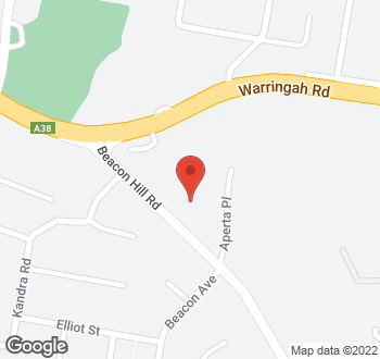 Map of 82 Beacon Hill Road, Beacon Hill NSW 2100