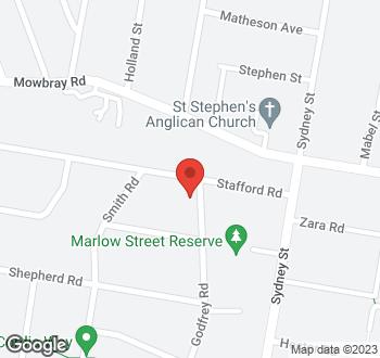 Map of 16 Stafford Road, Artarmon NSW 2064.