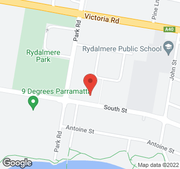 Map of 41 South Street Rydalmere NSW 2116