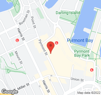 Map of 80A Pyrmont Street Pyrmont NSW 2009