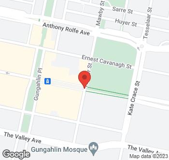 Map of 51 Hinder Street, Gungahlin, ACT