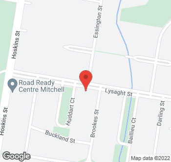 Map of 91 Lysaght Street, Mitchell, ACT