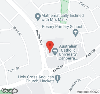Map of 131 Phillip Avenue, Watson, ACT
