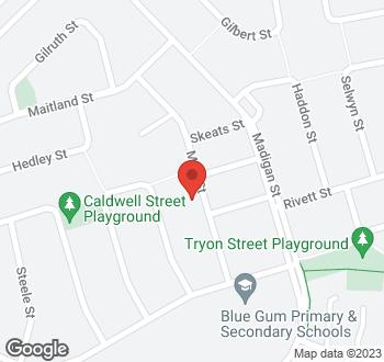 Map of 36 Mills Street, Hackett, ACT