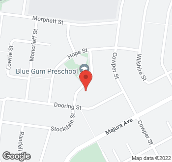 Map of 42 Stockdale Street, Dickson, ACT
