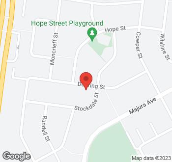 Map of 88 Dooring Street, Dickson, ACT