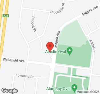 Map of 5 Majura Avenue, Dickson, ACT