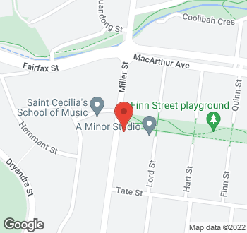 Map of 64 Miller Street, O'connor, ACT