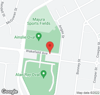 Map of 50 Wakefield Avenue, Ainslie, ACT
