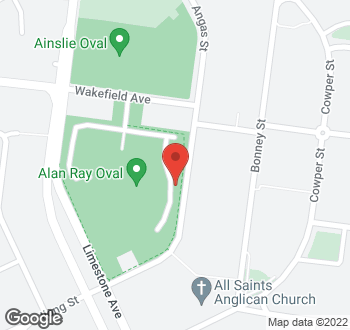 Map of 5 Angas Street, Ainslie, ACT