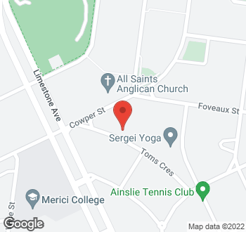 Map of 18 Toms Crescent, Ainslie, ACT