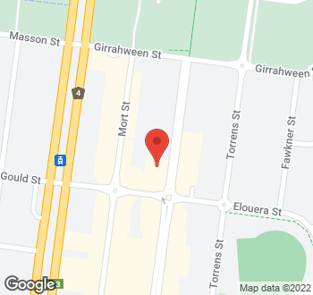Map of 21 Lonsdale Street, Braddon, ACT