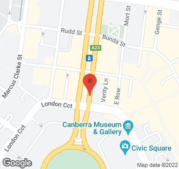 Map of 31 Northbourne Avenue, City, ACT