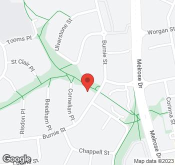 Map of 52 Burnie Street, Lyons, ACT