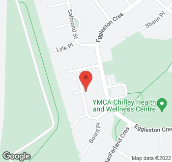 Map of 14 Coghlan Street, Chifley, ACT