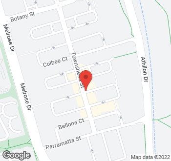 Map of 57 Townshend Street, Phillip, ACT