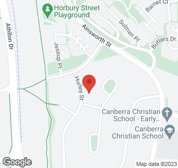 Map of 7 Hurley Street, Mawson, ACT