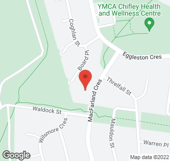 Map of 16 Macfarland Crescent, Chifley, ACT