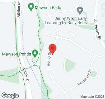 Map of 2 Laseron Place, Mawson, ACT