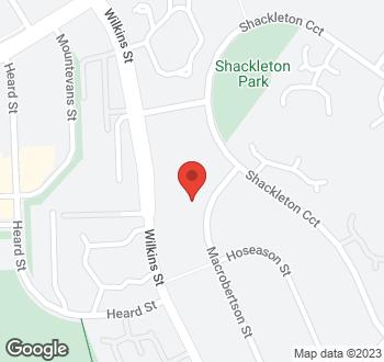 Map of 29 Macrobertson Street, Mawson, ACT