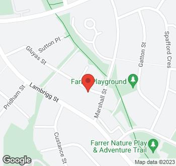 Map of 32 Gluyas Street, Farrer, ACT