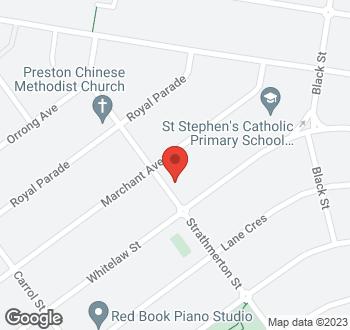 Map of 68 Strathmerton Street Reservoir VIC 3073
