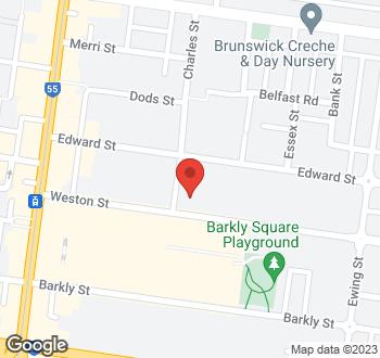 Map of 31 Weston Street, Brunswick VIC 3056