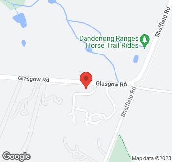 Map of 30 Glasgow Road, Kilsyth VIC 3137