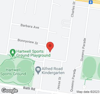 Map of 39 Alfred Road Glen Iris VIC 3146