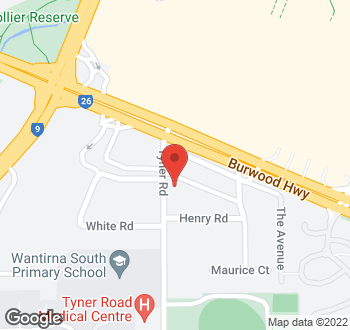 Map of 7 Tyner Road, Wantirna South VIC 3152