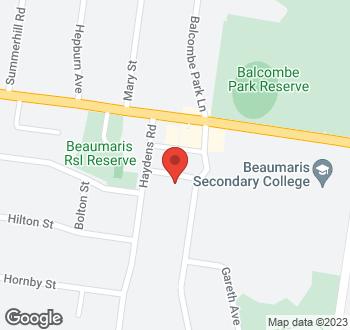 Map of 2 Waratah Avenue, Beaumaris VIC 3193