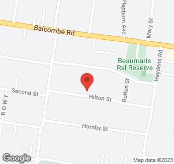 Map of 15 Hilton Street, Beaumaris VIC 3193