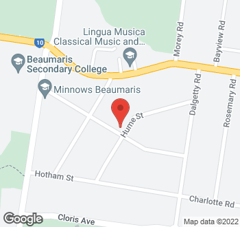 Map of 25 Clonmore Street, Beaumaris VIC 3193