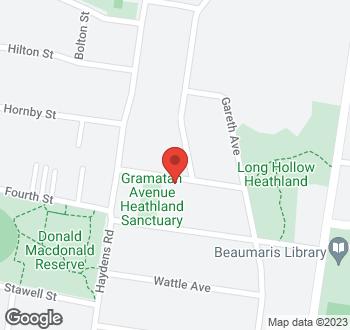 Map of 8 Sunset Avenue, Beaumaris VIC 3193