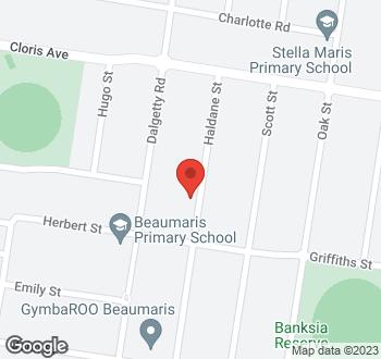 Map of 77 Haldane Street, Beaumaris VIC 3193