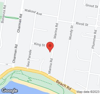 Map of 9 Marina Road, Mentone, VIC