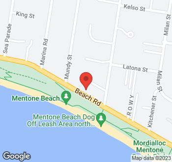 Map of 53 Beach Road, Mentone, VIC