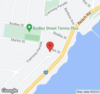 Map of 1,2 & 3B Keys Street, Beaumaris 3193, VIC