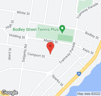 Map of 13 Comport Street, Beaumaris VIC 3193