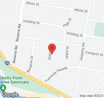 Map of 6 Stayner Street, Beaumaris VIC 3193