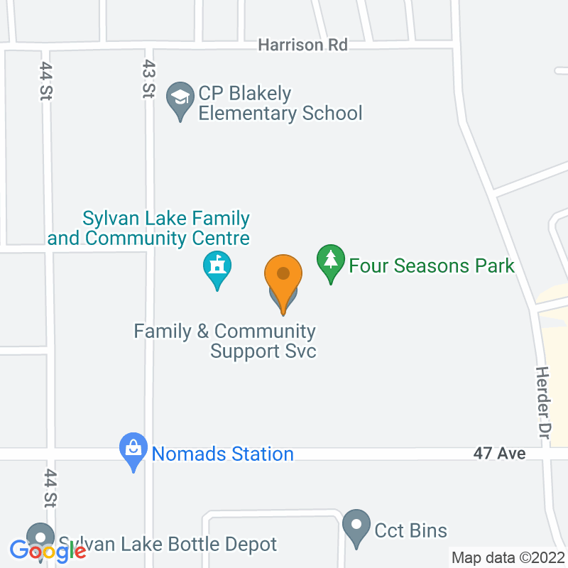 Mini map showing facility location