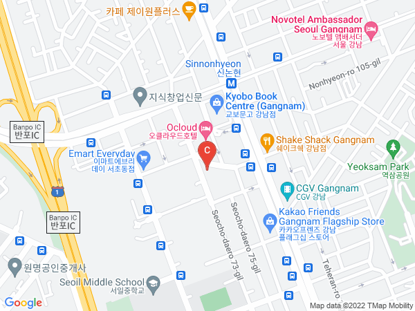 Kaplan's office address in Korea