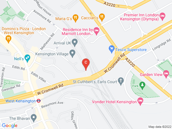 Kaplan's office address in the UK
